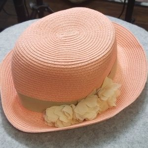August hat company baby pink adult easter hat